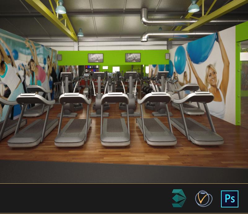 New Age Fitness Gym Interior