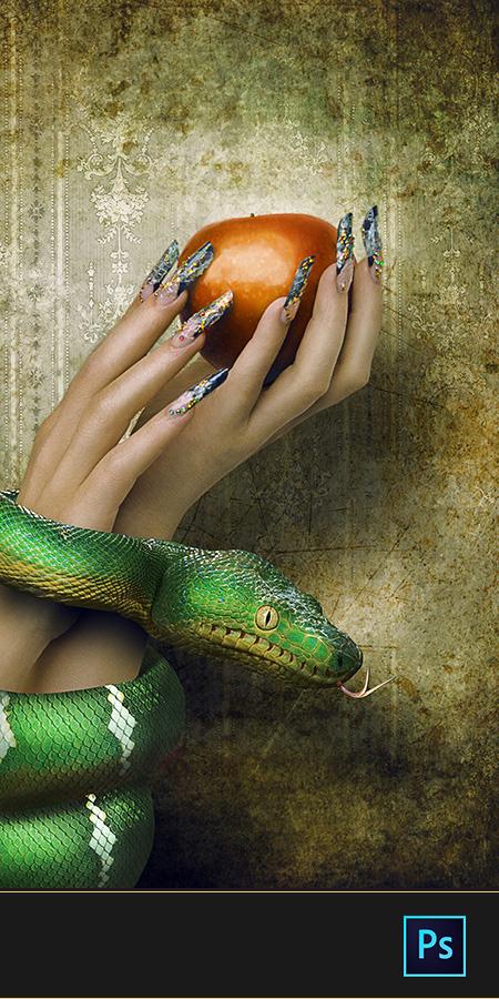 Snake nails #2