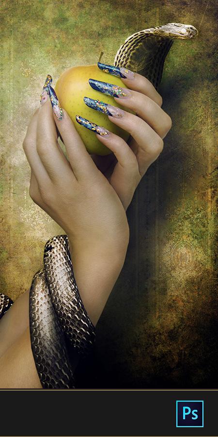 Snake nails #1