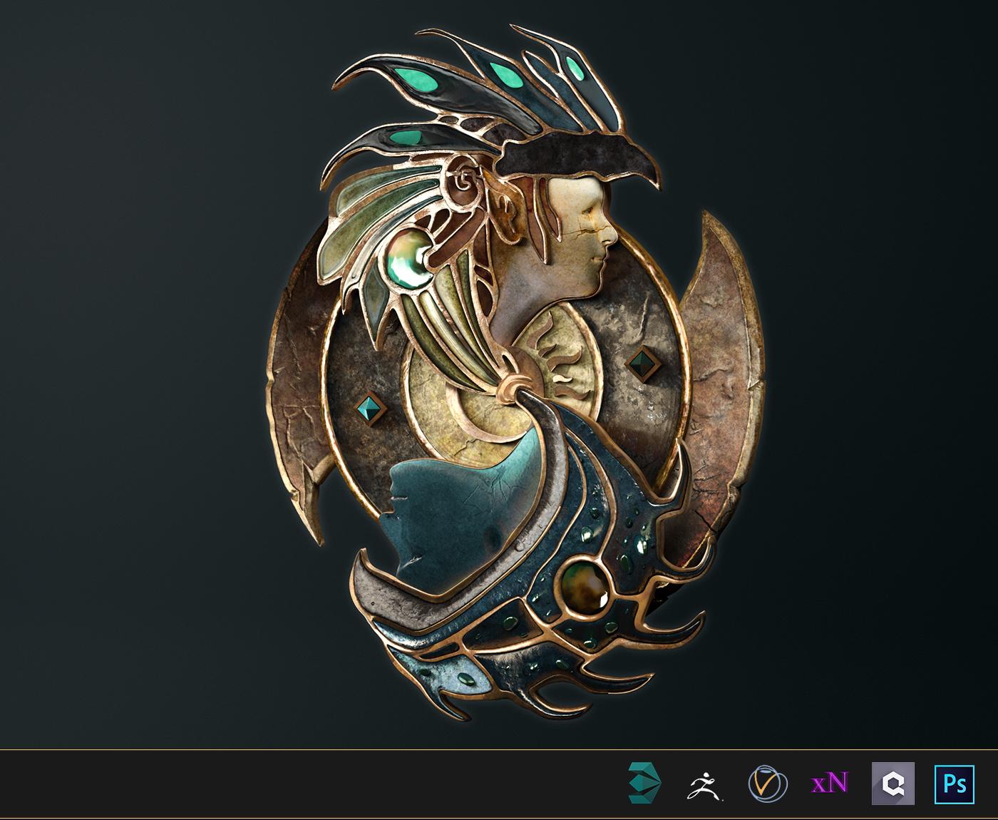 Baldur's Gate 2 Logo Fan Art